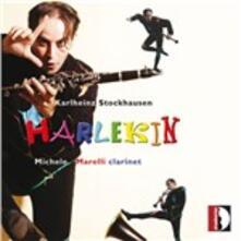 Harlekin - CD Audio di Karlheinz Stockhausen,Michele Marelli