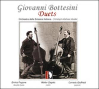 Duets - CD Audio di Giovanni Bottesini,Orchestra della Svizzera Italiana,Enrico Fagone,Walter Zagato,Christoph-Mathias Mueller