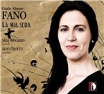 La mia sera - CD Audio di Sara Mingardo,Guido Alberto Fano