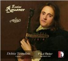 Delitiae Testudinis vol.1 - CD Audio di Esaias Reusner,Paul Beier