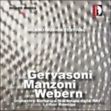 Milano Musica Festival - CD Audio di Stefano Gervasoni