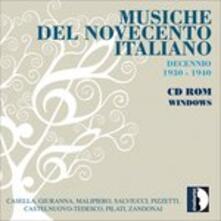 Musiche del Novecento italiano - CD Audio di Elena Barbara Giuranna