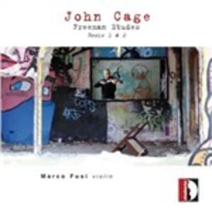 Freeman Etudes. Books 1 & 2 - CD Audio di John Cage,Marco Fusi