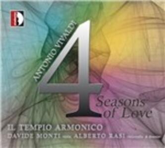 4 Seasons of Love - CD Audio di Antonio Vivaldi,Tempio Armonico