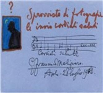 Cordiali saluti - CD Audio di Gian Francesco Malipiero