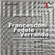 Rest / Duo en resonance / Quartetto n.2 - CD Audio di Luca Francesconi,Ivan Fedele,Giovanni Verrando