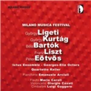 Kammerkonzert / 6 Momenti musicali / Szabadban / Hymne de la nuit - Hymne du matin / Psy - CD Audio di Franz Liszt,György Ligeti,Bela Bartok,György Kurtag,Peter Eötvös