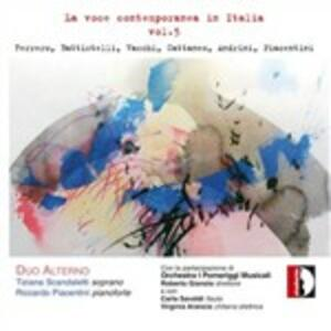 La voce contemporanea in italia vol.5 - CD Audio di Duo Alterno