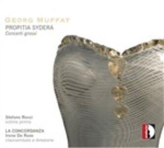 Propitia Sydera - CD Audio di Georg Muffat