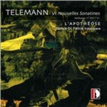 VI Nouvelles sonatines. L'apothéose - CD Audio di Georg Philipp Telemann