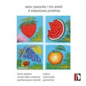 4 Estaciones portenas - CD Audio di Astor Piazzolla,Trio Artelli