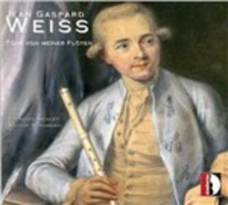 Töne von meiner Flöten - CD Audio di Jean Gaspard Weiss