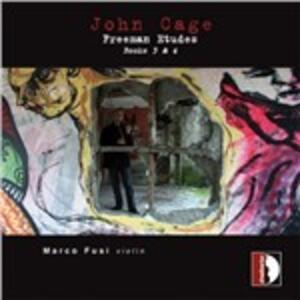 Freeman Etudes Book 3 - CD Audio di John Cage,Marco Fusi