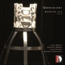 Sonate op.4 vol.2 - CD Audio di Francesco Geminiani