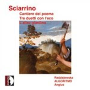 Cantiere Del Poema per Voce e Strumenti - CD Audio di Salvatore Sciarrino
