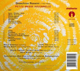 Petite Messe Solennelle - CD Audio di Gioachino Rossini - 2