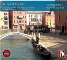 Concerti per violino - CD Audio di Antonio Vivaldi