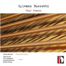 Quattro pianoforti - CD Audio di Sylvano Bussotti