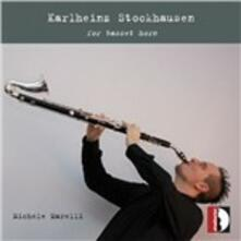 Per corno di bassetto - CD Audio di Karlheinz Stockhausen