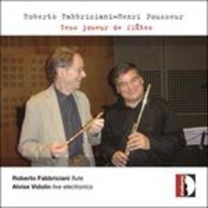 Zeus joueur de flutes - CD Audio di Roberto Fabbriciani