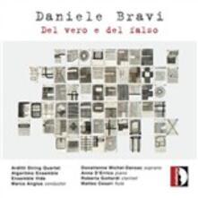 Del vero e del falso - CD Audio di Arditti Quartet,Donatienne Michel-Dansca,Marco Angius,Daniele Bravi