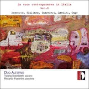 La voce contemporanea in Italia vol.6 - CD Audio di Duo Alterno