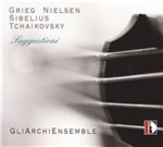 Suggestioni - CD Audio di Edvard Grieg,Jean Sibelius,Pyotr Il'yich Tchaikovsky,Carl August Nielsen