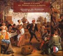 Danze a Stampa Del Rinascimento Europeo - CD Audio