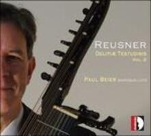 Delitiae Testudinis vol.2 - CD Audio di Esaias Reusner,Paul Beier
