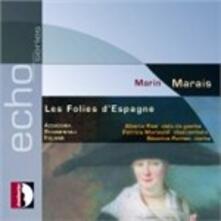 Folies d'Éspagne. II Libro - CD Audio di Marin Marais