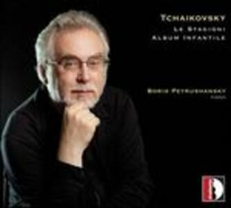 Le Stagioni - CD Audio di Pyotr Il'yich Tchaikovsky