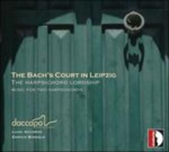 The Bach's Court in Leipzig - CD Audio di Johann Ludwig Krebs