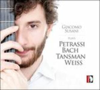 Giacomo Susani Plays - CD Audio di Goffredo Petrassi