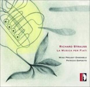 La musica per fiati - CD Audio di Richard Strauss
