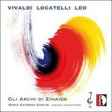 Concerto Per Violino Op 3 N.1 In Re - CD Audio di Antonio Vivaldi,Pietro Locatelli,Leonardo Leo,Giacomo Fiorin,Archi di Zinaida