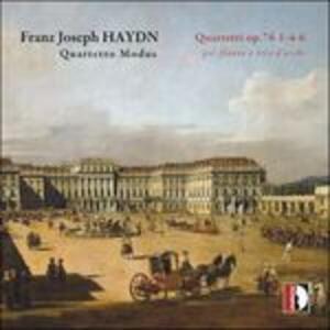 Quartetti op.76 n.1, n.4, n.6 - CD Audio di Franz Joseph Haydn