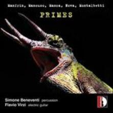 Primes - CD Audio di Luigi Manfrin