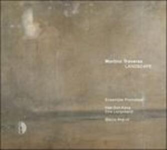 Trio triplo per nove strumenti - 6 annotazioni per pianoforte - Landscape - Red - CD Audio di Martino Traversa