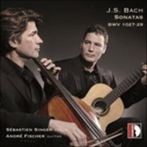Sonata per violoncello e chitarra n.1 BWV1027 - CD Audio di Johann Sebastian Bach