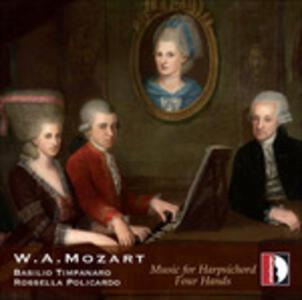Sonate per cembalo - Fantasia K608 in Fa - Andante e variazioni K501 - CD Audio di Wolfgang Amadeus Mozart