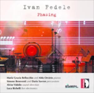 Phasing - CD Audio di Ivan Fedele