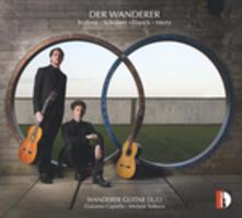 Wanderer Guitar Duo - CD Audio di Johannes Brahms