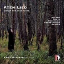 Atem Lied. Musica per flauto basso - CD Audio di Doina Rotaru,Keiko Murakami