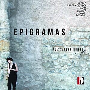Epigramas - CD Audio di Juan Manuel Artero,Alessandra Rombolà