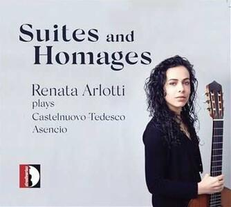 Suites and Homages - CD Audio di Mario Castelnuovo-Tedesco,Renata Arlotti