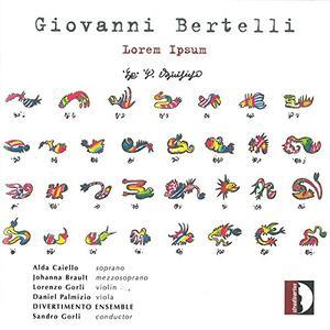 Lorem Ipsum - CD Audio di Sandro Gorli,Giovanni Bertelli,Divertimento Ensemble