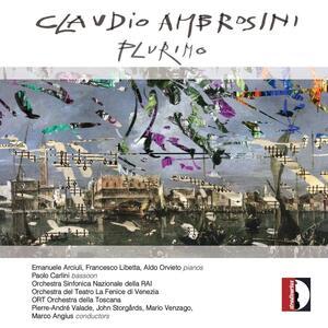 Plurimo. Concerto per due pianoforti e grande orchestra - CD Audio di Claudio Ambrosini
