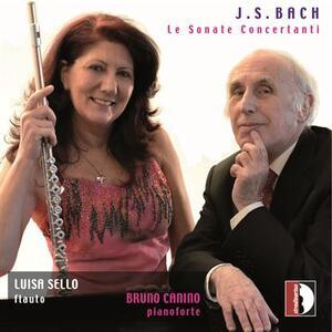 Le sonate concertanti - CD Audio di Johann Sebastian Bach,Luisa Sello