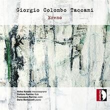 Eremo - CD Audio di Giorgio Colombo Taccani