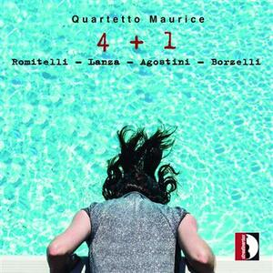 4 + 1 - CD Audio di Fausto Romitelli